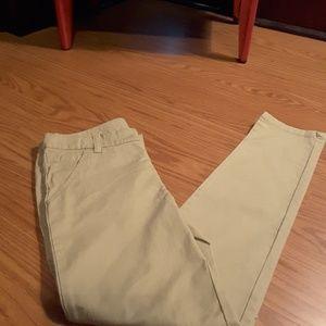 3/$15 Cat & Jack beige khaki chinos uniform pant